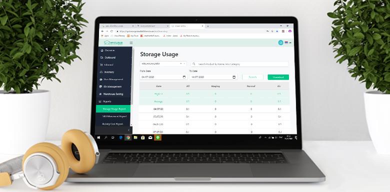 Online Warehouse Management System